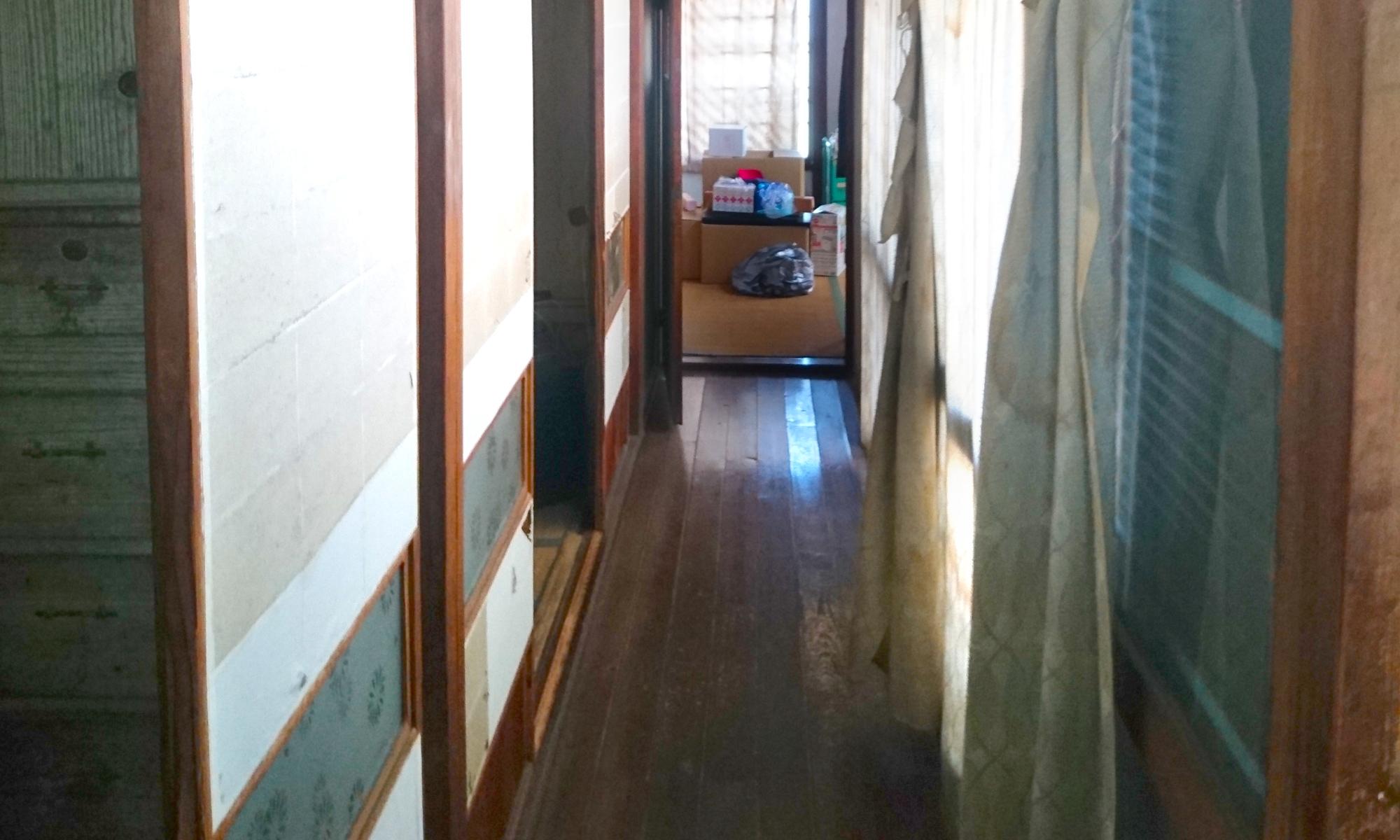 床材張替え・施工前